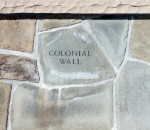 Colonial Wall